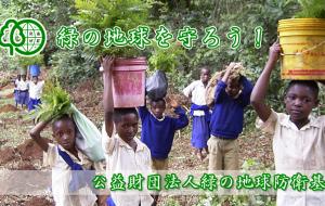 緑の地球を守ろう!公益財団法人緑の地球防衛基金