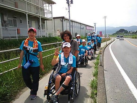 復興に障害者の視点を!陸前高田から宮古まで歩きました
